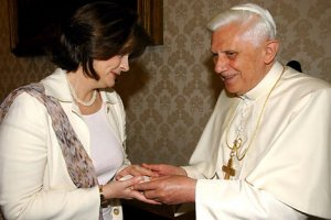 The Pope and Cherie