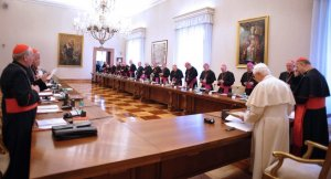 Irish Bishops meet the Pope at the Vatican