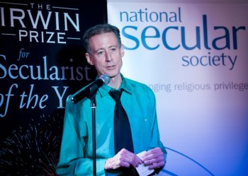 Peter Tatchell named Secularist of the Year 2012