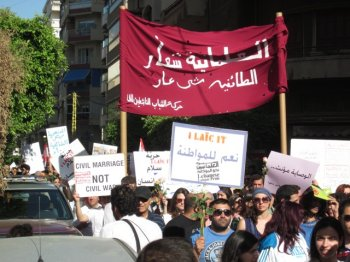 Asking the impossible? Lebanon's march for secularism