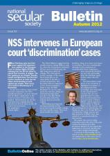 NSS Bulletin Autumn 2012