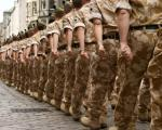 Increase in proportion of non-religious in armed forces