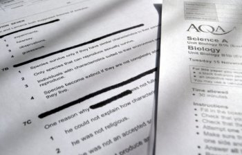 Government complicit in redaction of exam questions