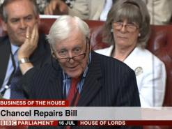 Legislation introduced to abolish chancel repair liability