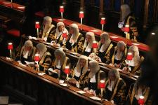 Judges' religious service criticised by secular lawyers