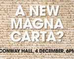 A 'New Magna Carta': time for a codified constitution?