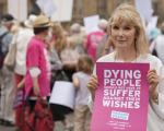 Dignity in Dying demonstration on Friday 7 November in support of the Assisted Dying Bill