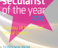 A very special Secularist of the Year event in the offing- get your tickets now