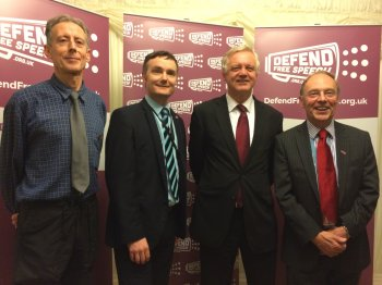 Defend Free Speech Campaign launched in Parliament