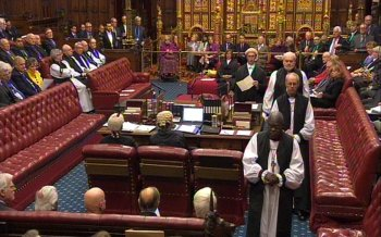 Petition to remove bishops from the House of Lords gains over 10,000 signatures