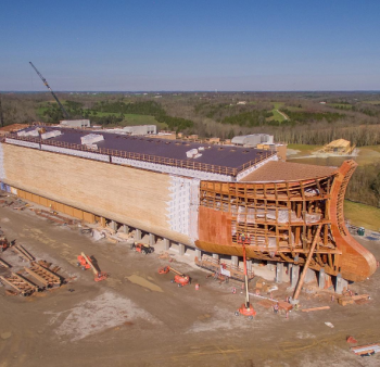 "All Noah's Ark theme park staff must ""profess Christ as their saviour"""