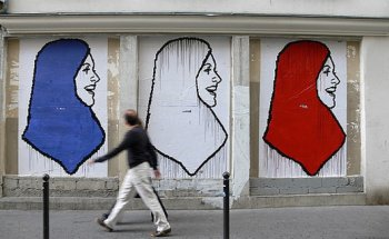 Nearly a third of French Muslims prefer sharia to secular law, research finds