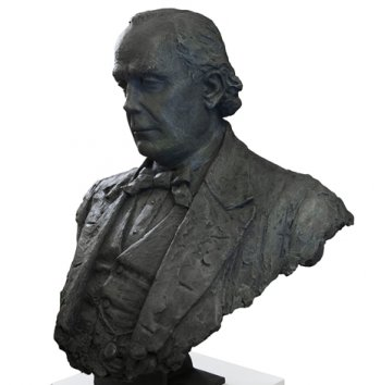 Portrait bust of NSS founder Charles Bradlaugh MP unveiled in Parliament