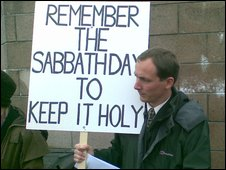 Sabbatarians have imposed their dogma on islanders for long enough, help them put a stop to it