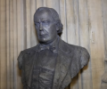 Charles Bradlaugh portrait bust named Parliament's artwork of the month