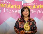 Yasmin Rehman named Secularist of the Year 2017
