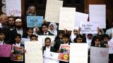 Parents from privately-run Muslim school protest after ministers in Scotland reject state funding bid