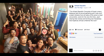 Malaysia targets ex-Muslims over viral atheist photo