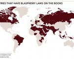 "Blasphemy laws ""astonishingly widespread"" - report"