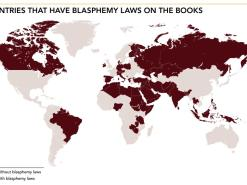 "Blasphemy laws ""astonishingly widespread"", says US government report"