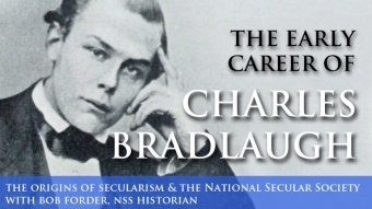 The young Charles Bradlaugh