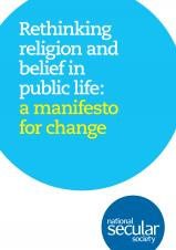 Rethinking religion and belief in public life: a manifesto for change