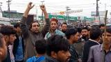 Protests in Pakistan for Christians on blasphemy charges