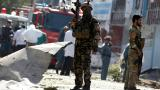 At least seven dead after suicide bomb blast at security checkpoint in Kabul