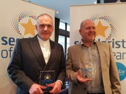 NSS names Phil Johnson and Graham Sawyer as Secularists of the Year