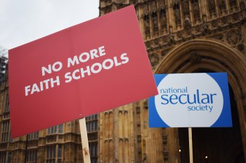 NSS urges 'no more faith schools' as it launches national campaign