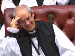 "Welby: disestablishment ""a decision for parliament and people"""