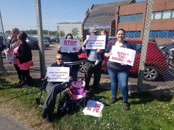 Parents protest imposition of religious status on Norfolk school