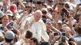 Protesters buy and bin tickets to papal event in Ireland