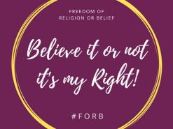 Religious and secular groups launch EU freedom of belief campaign