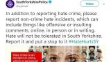 "Police force mocked for urging people to report ""offensive or insulting comments"""