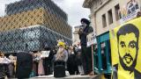 Sikh protesters claim heavy-handed police treatment
