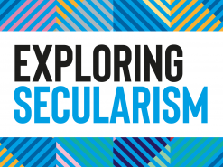 Exploring Secularism title graphic square