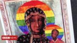 Detained Polish activist speaks out on LGBT Virgin Mary posters