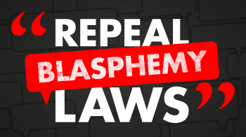Repeal blasphemy laws