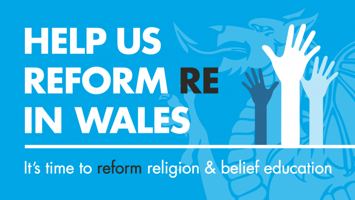 Welsh govt plans would see Religion, Values and Ethics taught in a more pluralistic way. But they fall short of ensuring every pupil gets genuinely balanced and critical RVE. Find out more and help improve the proposals.