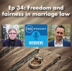 Ep 34: Freedom and fairness in marriage law