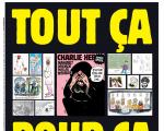 Charlie Hebdo front page 2020