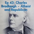 Episode title with picture of Charles Bradlaugh