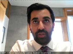 Free speech hate crime bill Scotland Humza Yousaf