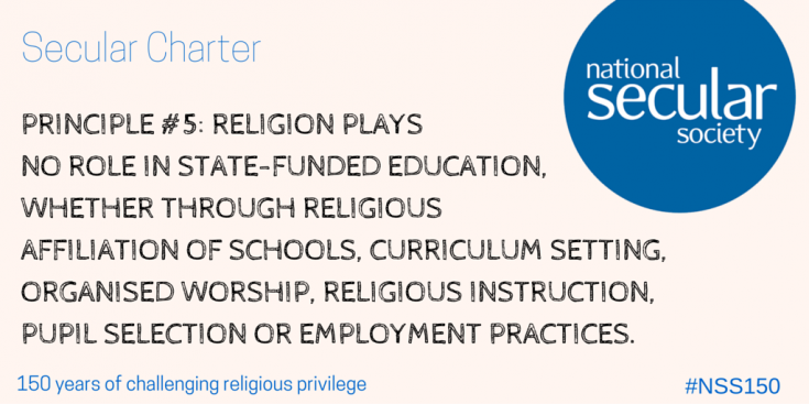 Secular Charter clause 5
