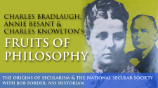 Charles Bradlaugh, Annie Besant & Charles Knowlton's 'Fruits of Philosophy'