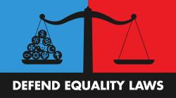 Defend equality laws