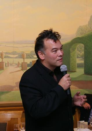 Stewart Lee entertains the audience
